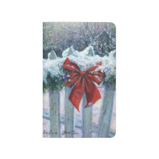 """""""Bow In the Snow"""" Notebook"""