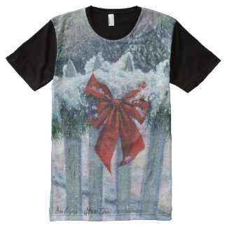 """""""Bow in the Snow"""" T-Shirt"""