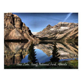 Bow Lake Banff National Park Alberta Postcard