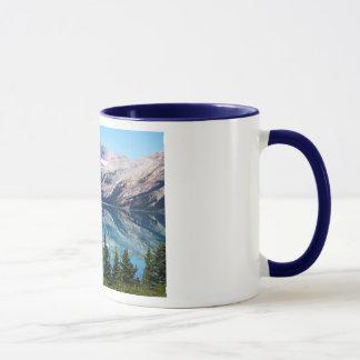 Bow Lake, Banff National Park, Canada Mug