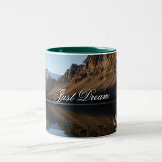 Bow Lake, Just Dream Two-Tone Coffee Mug