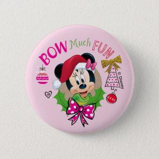 Bow Much Fun 2 Inch Round Button