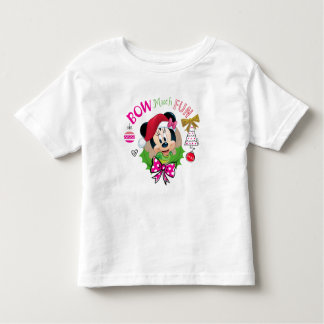 Bow Much Fun Toddler T-shirt