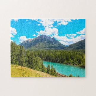 Bow River Banff Alberta Canada. Jigsaw Puzzle