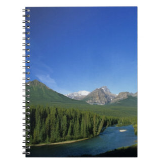 Bow River near Banff National Park in Alberta Note Books