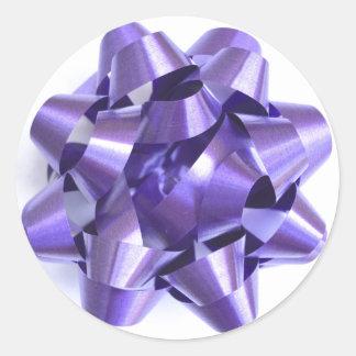 Bow Sticker in Purple