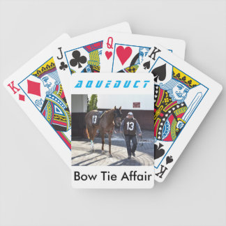 Bow Tie Affair Bicycle Playing Cards