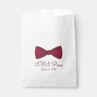 Bow Tie Bowtie Formal Prom Custom Favor Bag
