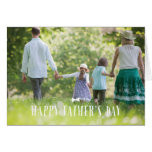 Bow Tie Father's Day Greeting Card - White