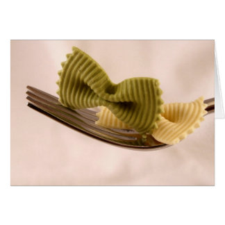 Bow Tie Pasta Card