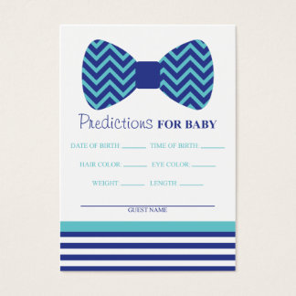 Bow Tie Predictions Card Large Business Card