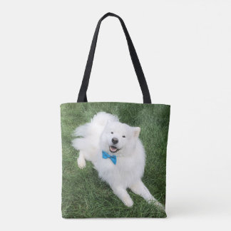 Bow Tie Ty - All-Over Tote Bag