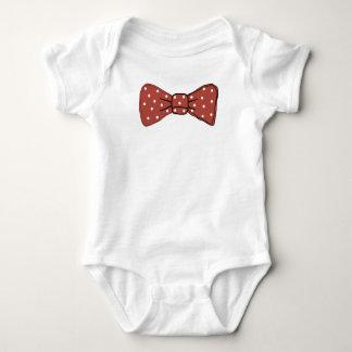 Bow Tie Vest Baby Bodysuit