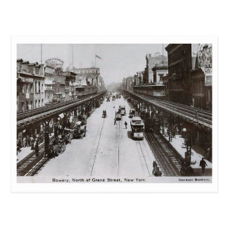 Bowery, North of Grand, New York City 1910 Vintage Postcard