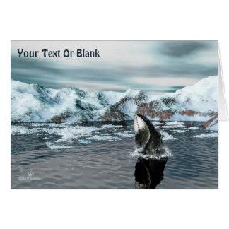 Bowhead Whale Card