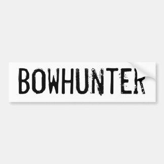 Bowhunter Bumper Sticker