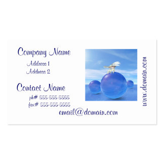 Bowing Pegasus Business Card