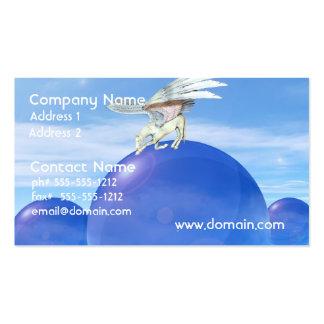 Bowing Pegasus Business Cards