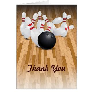 Bowl a Strike Thank You Card