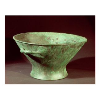 Bowl from one of the Chamber Tombs, Mycenae Postcard
