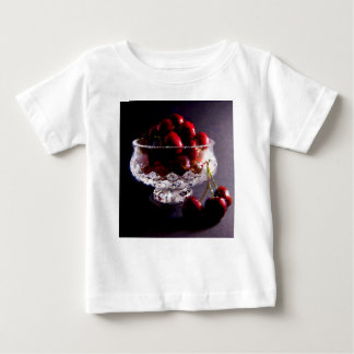Bowl of Cherries Abstract Baby T-Shirt