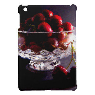 Bowl of Cherries Abstract iPad Mini Case