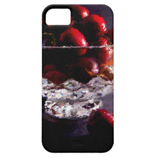 Bowl of Cherries Abstract iPhone 5 Case