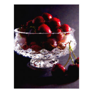 Bowl of Cherries Abstract Letterhead