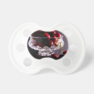 Bowl of Cherries Abstract Pacifier