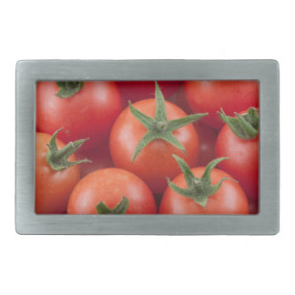 Bowl Of Cherry Tomatoes Belt Buckles