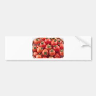 Bowl Of Cherry Tomatoes Bumper Sticker