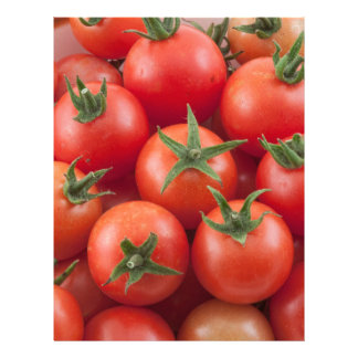 Bowl Of Cherry Tomatoes Letterhead