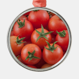 Bowl Of Cherry Tomatoes Metal Ornament