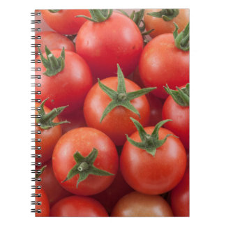 Bowl Of Cherry Tomatoes Notebooks