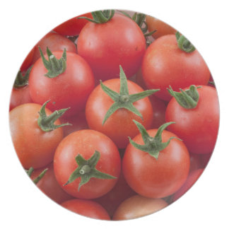 Bowl Of Cherry Tomatoes Plate