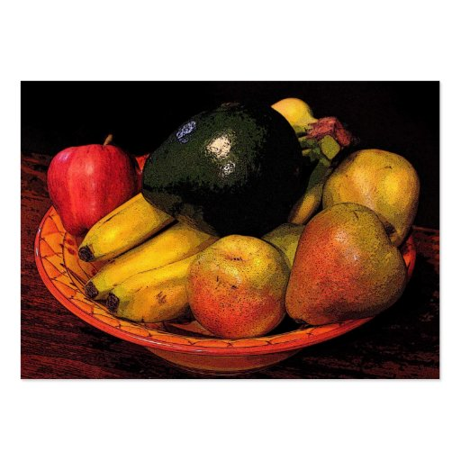 Bowl of Fruit ATC Business Card