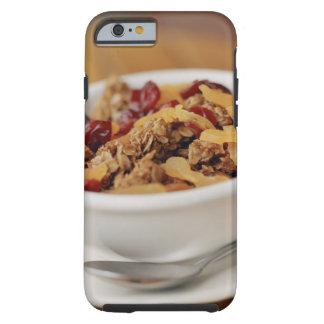 Bowl of granola tough iPhone 6 case