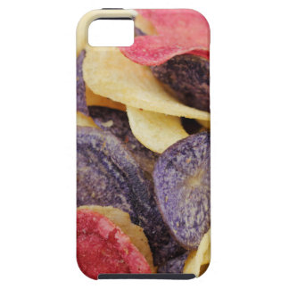 Bowl of Mixed Potato Chips Close-Up Case For The iPhone 5