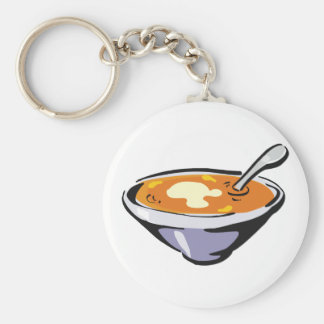 Bowl Of Soup Keychain