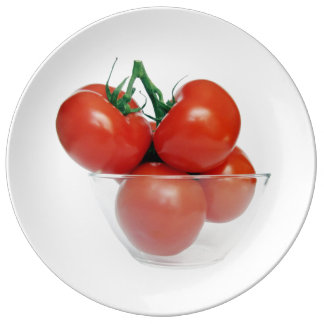 bowl of tomatoes plate