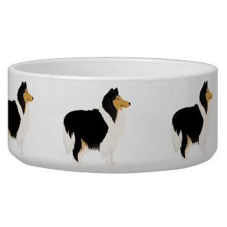 Bowl with collie