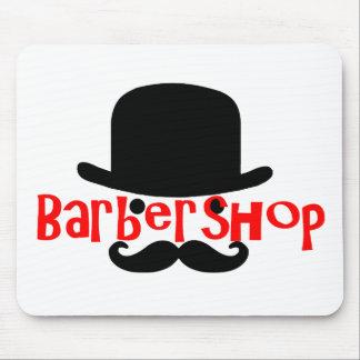 Bowler Barbershopper Mouse Pad