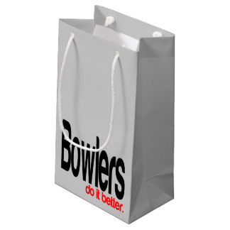 Bowlers do it Better Small Gift Bag