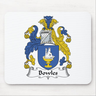Bowles Family Crest Mouse Pad