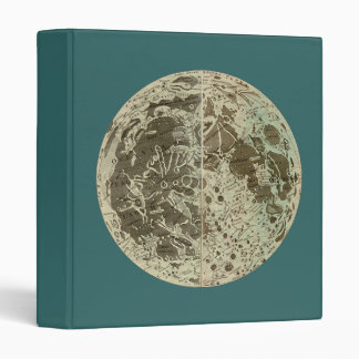 Bowles' Selenography or a Map of the Moon - 1780 Vinyl Binder