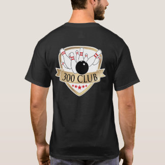 Bowling 300 Club / Perfect Game - Logo / Graphic T-Shirt