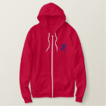 BOWLING 4 EMBROIDERED HOODY