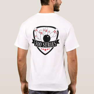 Bowling 500 Series - Logo / Graphic T-Shirt