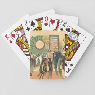 Bowling Alley 1893 Poker Deck