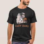 Bowling Alley oops! Caveman T-Shirt
